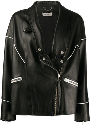 Golden Goose Zipped Biker Jacket