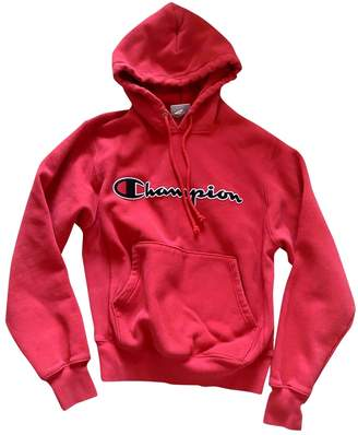 Champion Red Cotton Knitwear
