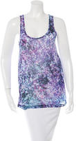 Prabal Gurung Sleeveless Printed Top