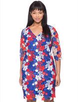 ELOQUII Plus Size Studio Lace Front Dress