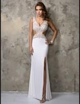Nina Canacci - 1217 Dress in Ivory