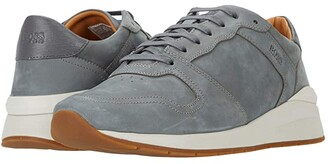 HUGO BOSS Element Runn Sneakers (Medium Grey) Men's Shoes