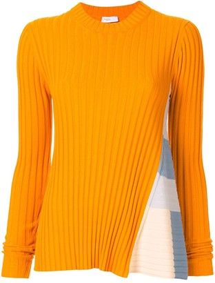 Rosetta Getty stripe panel jumper
