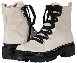 Steve Madden Rainier Hiker Bootie (Bone Leather) Women's Shoes