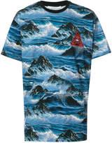 Givenchy waves printed T-shirt