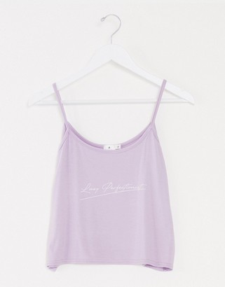 Adolescent Clothing lazy perfectionist cami short set