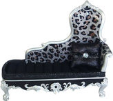 Asstd National Brand Leopard-Print Sofa Jewelry Box