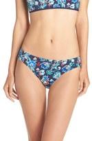 Tommy Bahama Women's Folk Floral Hipster Bikini Bottoms