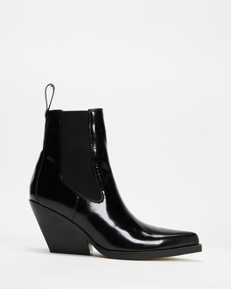 Mae Women's Black Chelsea Boots - Jean - Size 36 at The Iconic
