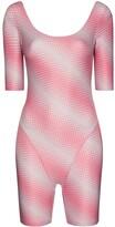 Thumbnail for your product : MAISIE WILEN Diagonal Stripe Print Playsuit