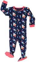 "Elowel Pajamas Elowel Baby Boys footed ""Rocket"" pajama sleeper 100% cotton 2 Toddler"