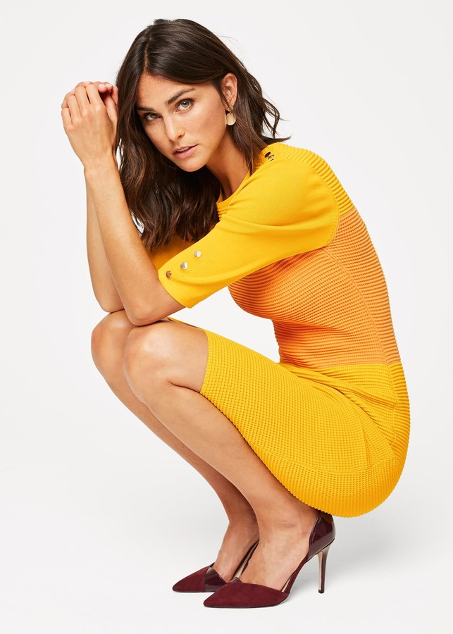 Thumbnail for your product : Phase Eight Morna Colourblock Knit Dress