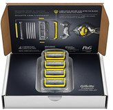 Gillette Fusion Proshield Razor Blades Refill, 4 count