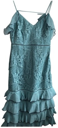 Topshop Tophop Turquoise Dress for Women