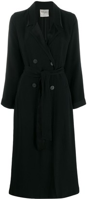 Forte Forte Belted Double Breasted Coat