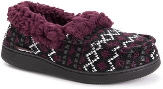 Muk Luks Women's Moccasin Slippers - Anais