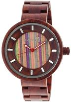 Earth Root Collection ETHEW2507 Unisex Wood Watch with Wood Bracelet-Style Band