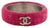Chanel Tweed CC Bangle