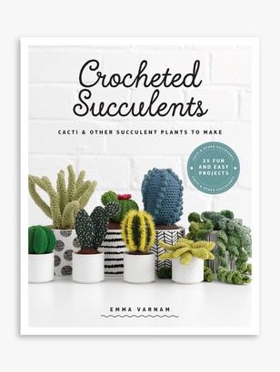 Gmc Crocheted Succulents Book by Emma Varnam