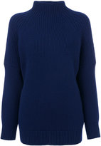 Victoria Beckham turtle neck jumper - women - Wool - 1