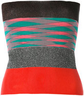 Missoni striped knit top - women - Polyester/Cupro/Viscose - One Size