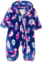 Hatley Happy Owls Fuzzy Fleece Bundler (Infant)
