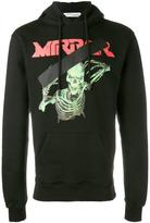Off-White 'Skull Mirror' hoodie - men - Cotton - L