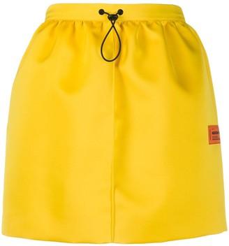 Heron Preston Drawstring Mini Skirt