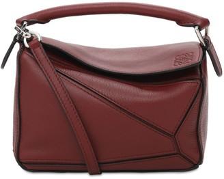 Loewe Mini Puzzle Leather Top Handle Bag