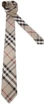 Burberry classic check print tie