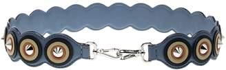 Fendi \N Blue Leather Bag charms