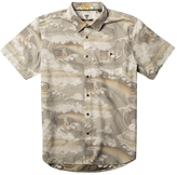 VISSLA Liquid Rollers Short Sleeve Woven Shirt