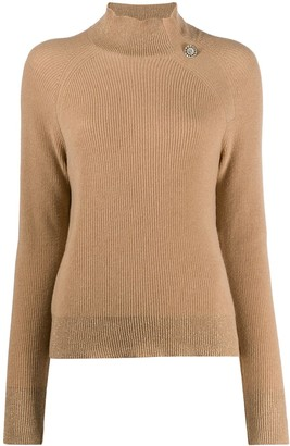 Liu Jo High Neck Knitted Jumper