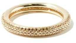 Otiumberg Diamond And Recycled 9kt-gold Ring - Light Pink