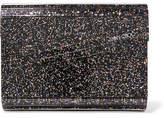 Jimmy Choo Candy Glittered Acrylic Clutch - Metallic