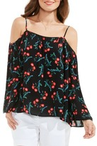 Vince Camuto Tropic Spritz Off the Shoulder Blouse (Regular & Petite)