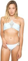 Frankie's Bikinis Harlow Top in Sky