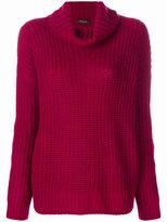 Loro Piana chunky knit roll neck jumper