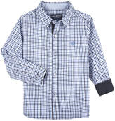 Andy & Evan Boys' Checked Dressy Shirt