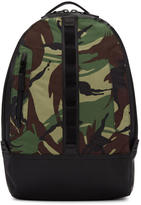 Rag & Bone Green Camo Aviator Backpack