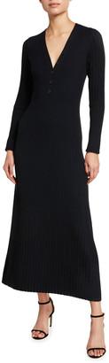 Akris Punto Merino Knit Midi Sweater Dress