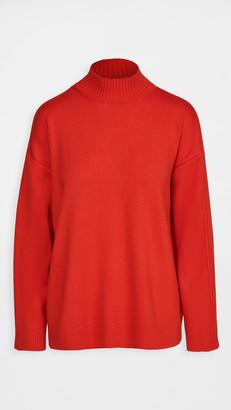Monse Ribbed Cowl Back Knit Sweater