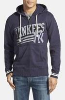 Mitchell & Ness Men's 'New York Yankees' Tailored Fit Full Zip Hoodie