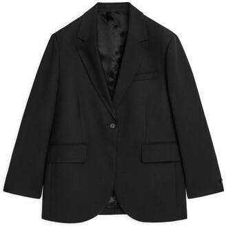 Arket Oversized Wool Blend Blazer