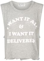Wildfox Couture I Want It All Tank Top