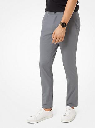 Michael Kors Skinny-Fit Stretch-Cotton Chino Pants