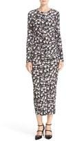 Just Cavalli Print Midi Dress