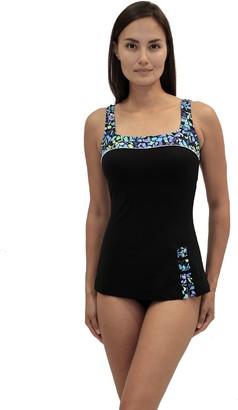 Fit 4 U C's Retro-Style Sheath Swimsuit