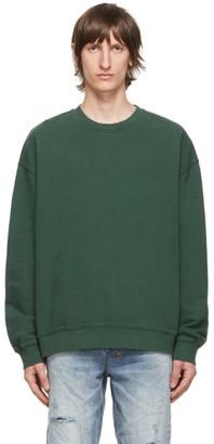 Ksubi Green Biggie Sweatshirt