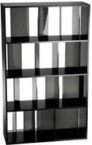 Kartell Sundial Bookcase Transparent - Black/Smoke